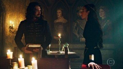 Catarina usa a gravidez para chantagear Afonso