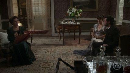 Lady Margareth revela seu plano de vingança contra Darcy e Elisabeta