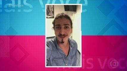 Johnny Massaro manda recado para Alexandre Borges e Rômulo Estrela