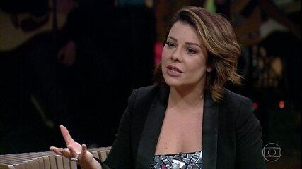 Fernanda Souza fala sobre carreira de apresentadora