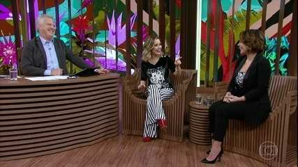 Fernanda Souza brinca sobre carreira de cantora