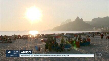 MPRJ denunbciou 5 servidores da prefeitura do Rio por cobrar propina de barraqueiros