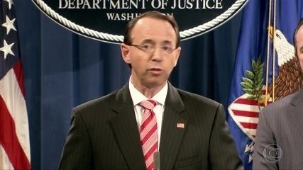 Departamento de justiça dos EUA indiciam 12 espiões russos