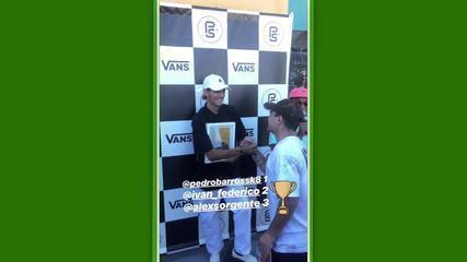 Pedro Barros vence o Van Park Series