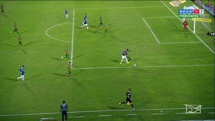 Walter marca belo gol no duelo com Sampaio e põe o CSA na vice-liderança da Série B