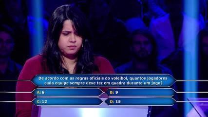 Mayara Santos entra na disputa por R$ 1 milhão