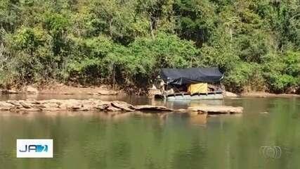 Ibama multa em R$ 100 mil mineradores que extraiam ouro ilegalmente do Rio das Alma