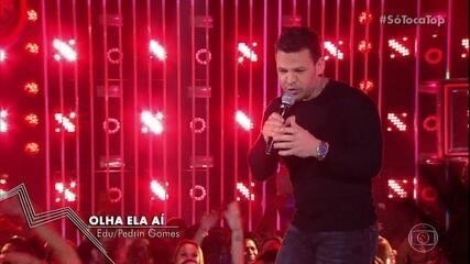 Eduardo Costa canta 'Olha ela ai'