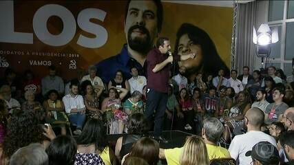 PSOL oficializa de Guilherme Boulos candidatura à Presidência