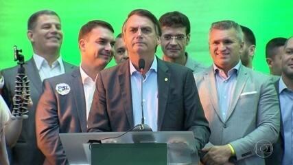PSL oficializa candidatura de Jair Bolsonaro à Presidência