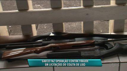 Gaeco faz operação contra fraude em licitações de coleta de lixo do Paraná