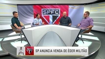 São Paulo anuncia venda de Éder Militão