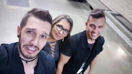 Confira a reação de D'Lucca & Gabriel após a aprovação nas 'Audições às Cegas'