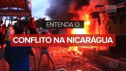 Entenda o conflito na Nicarágua
