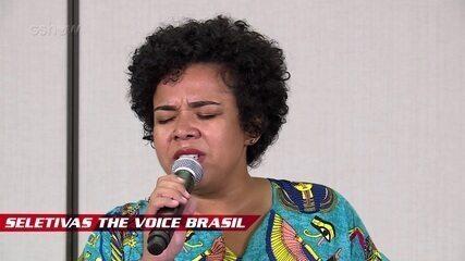 Confira vídeo exclusivo de Raissa Araújo na seletiva do The Voice Brasil