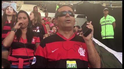 """Deficientes visuais, Joao e Israel vão ao Maracanã pela primeira vez: """"Coisa fantástica"""""""