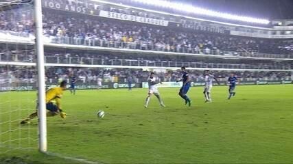 Melhores momentos: Santos 0 x 1 Cruzeiro pelas quartas de final da Copa do Brasil