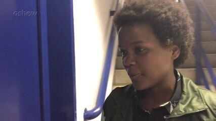 Confira a reação de Priscila Tossan após a aprovação na 'Audição às Cegas'