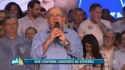 Partido Democratas confirma José Ronaldo de Carvalho como candidado ao governo do estado