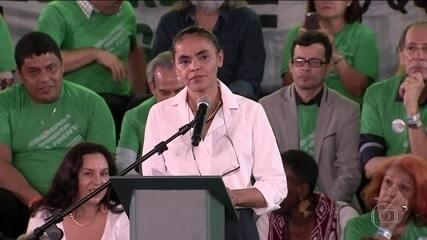 Rede oficializa candidatura de Marina Silva à Presidência da República