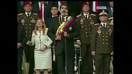 Venezuela prende 6 pessoas após suposto ataque contra Maduro