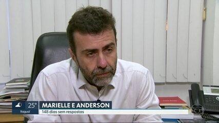 Os assassinatos da vereadora Marielle Franco e de Anderson Gomes completou 148 dias