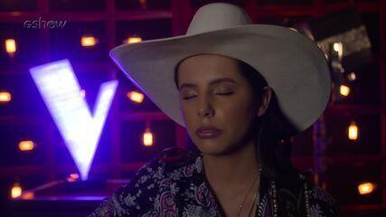 Veja a emoção de Morgana Rodrigues instantes antes de subir ao palco do 'The Voice'