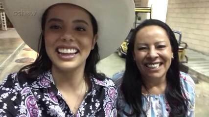 Confira a reação de Morgana Rodrigues após a aprovação nas 'Audições às Cegas'