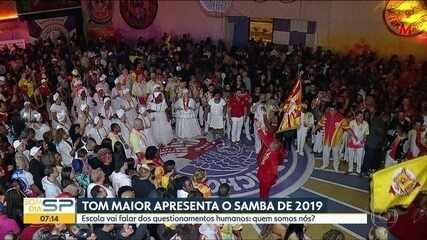 Carnaval 2019: Tom Maior apresenta samba que vai levar à avenida