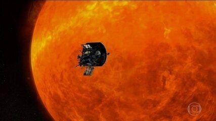 Nasa lança sonda que vai tocar no Sol