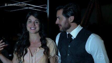 Chandelly Braz comenta cena em que Xavier corta os cabelos de Mariana em 'Orgulho e Paixão'