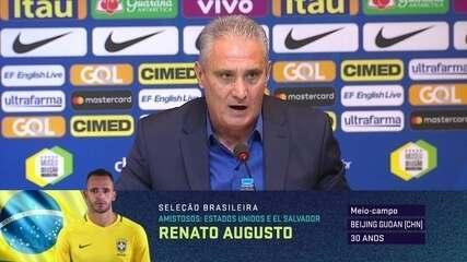"""Tite fala sobre novidades na lista de convocados da Seleção Brasileira: """"Esse é o momento"""""""