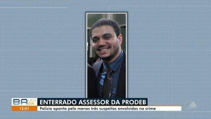 Assessor de órgão do governo é enterrado em Salvador