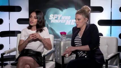 Mila Kunis e Kate McKinnon falam sobre 'Meu ex é um espião'