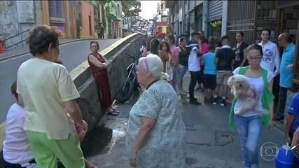 Terremoto causa pânico entre venezuelanos
