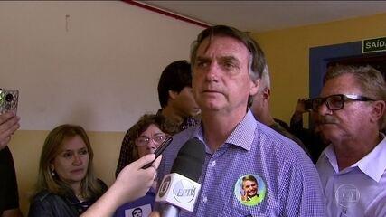 Jair Bolsonaro (PSL) faz campanha no interior paulista