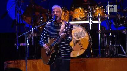 Festival de Inverno Bahia: Lulu Santos toca 'Um pro outro'