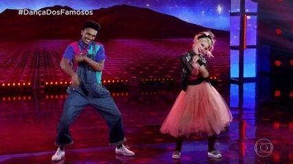 Pâmela Tomé e Marcus Lobo dançam ao som de clássico de Cyndi Lauper