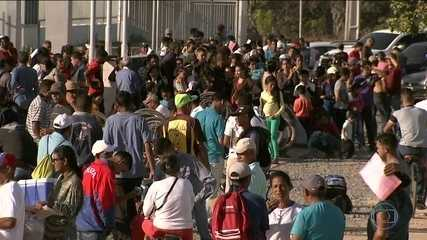 Temer diz que governo estuda distribuir senhas para controlar entrada de venezuelanos