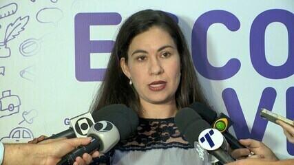 Secretária comemora trajetória de crescimento no Saeb
