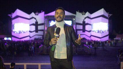Festival de Inverno (parte 1): Pablo invade os bastidores e conversa com artistas
