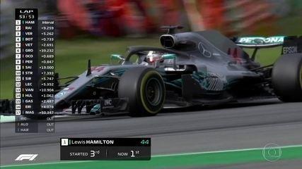 Confira os melhores momentos do GP da Itália