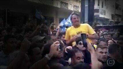 Candidato à Presidência pelo PSL, Jair Bolsonaro é esfaqueado em Juiz de Fora