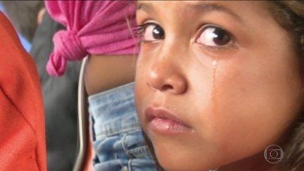 Venezuelanos começam a voltar pra casa depois que a tensão em Boa Vista aumentou