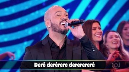 Belo canta 'Derê' no 'Ding Dong'