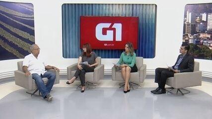 G1 entrevista candidato Amazonino Mendes