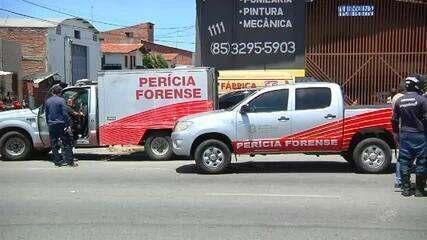 Mãe morre e salva filha em acidente de ônibus em Fortaleza