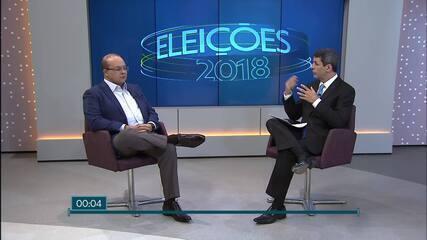 Ibaneis Rocha (MDB) é entrevistado no DF1