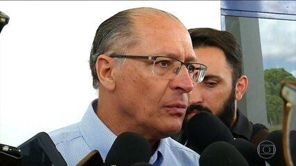 Geraldo Alckmin faz campanha no Nordeste