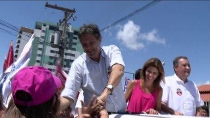 Fernando Haddad, candidato do PT à Presidência, faz campanha no interior da Bahia